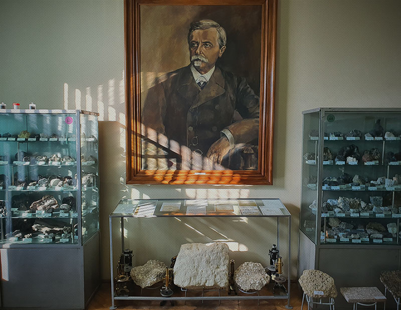 Muzeul de Mineralogie şi Petrografie 'Grigore Cobălcescu'