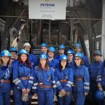 Studenții de la Geologie în vizită de studiu la singura mină de petrol din Europa