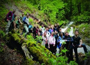 Aplicație practică de teren ~ Simpozionului Național al Studenților Geologi (2017)